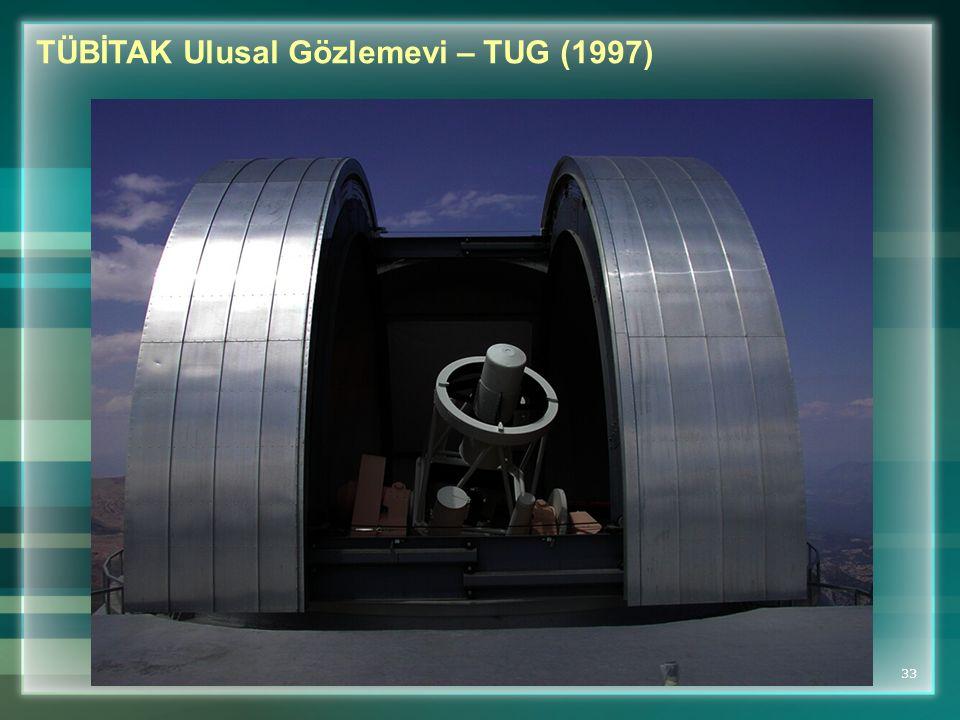 TÜBİTAK Ulusal Gözlemevi – TUG (1997)