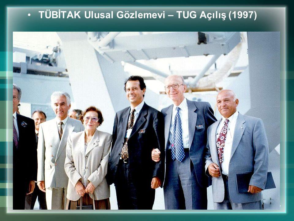 TÜBİTAK Ulusal Gözlemevi – TUG Açılış (1997)