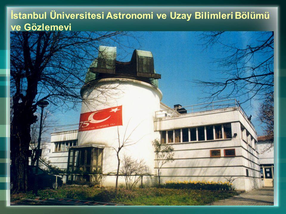 İstanbul Üniversitesi Astronomi ve Uzay Bilimleri Bölümü ve Gözlemevi