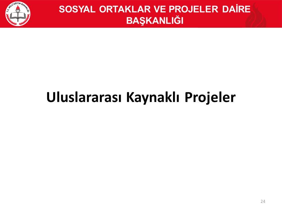 Uluslararası Kaynaklı Projeler