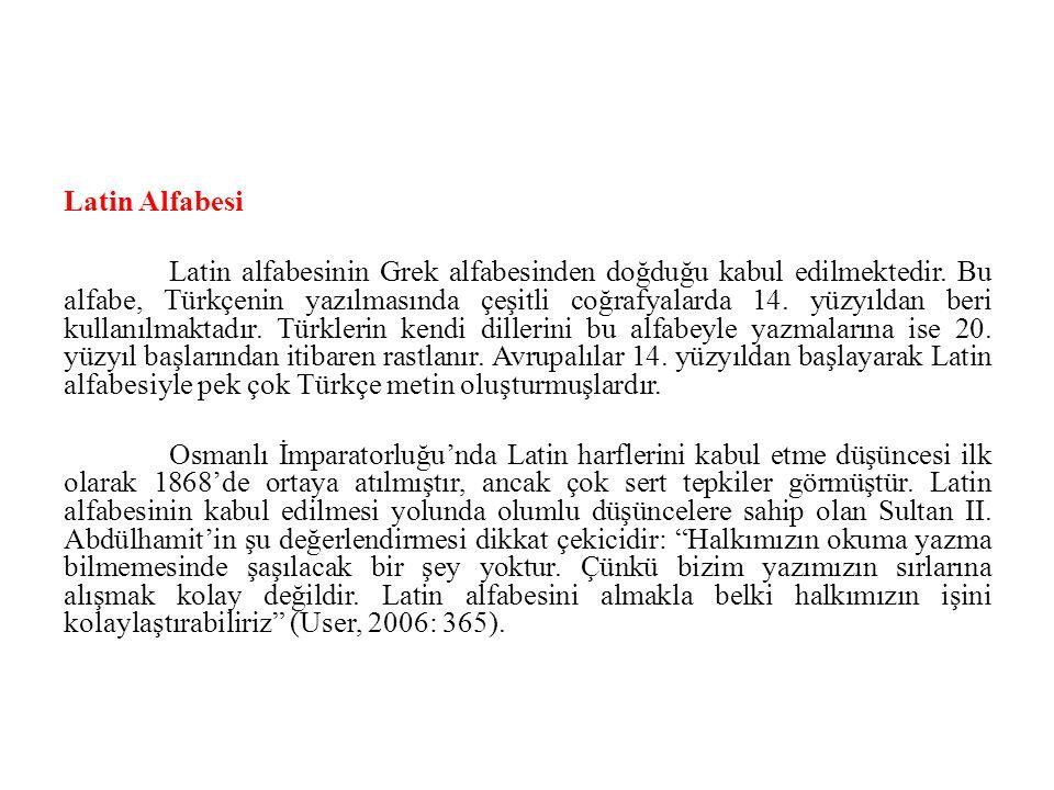 Latin Alfabesi