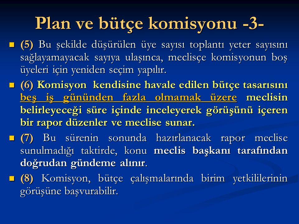 Plan ve bütçe komisyonu -3-