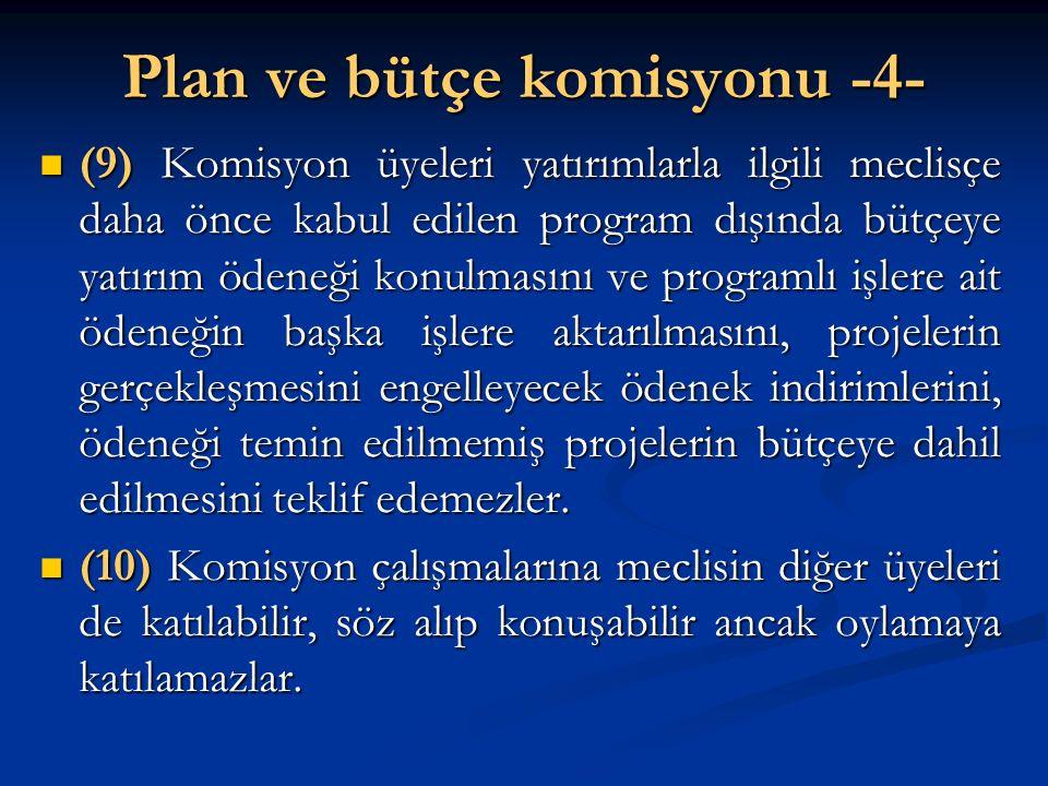 Plan ve bütçe komisyonu -4-