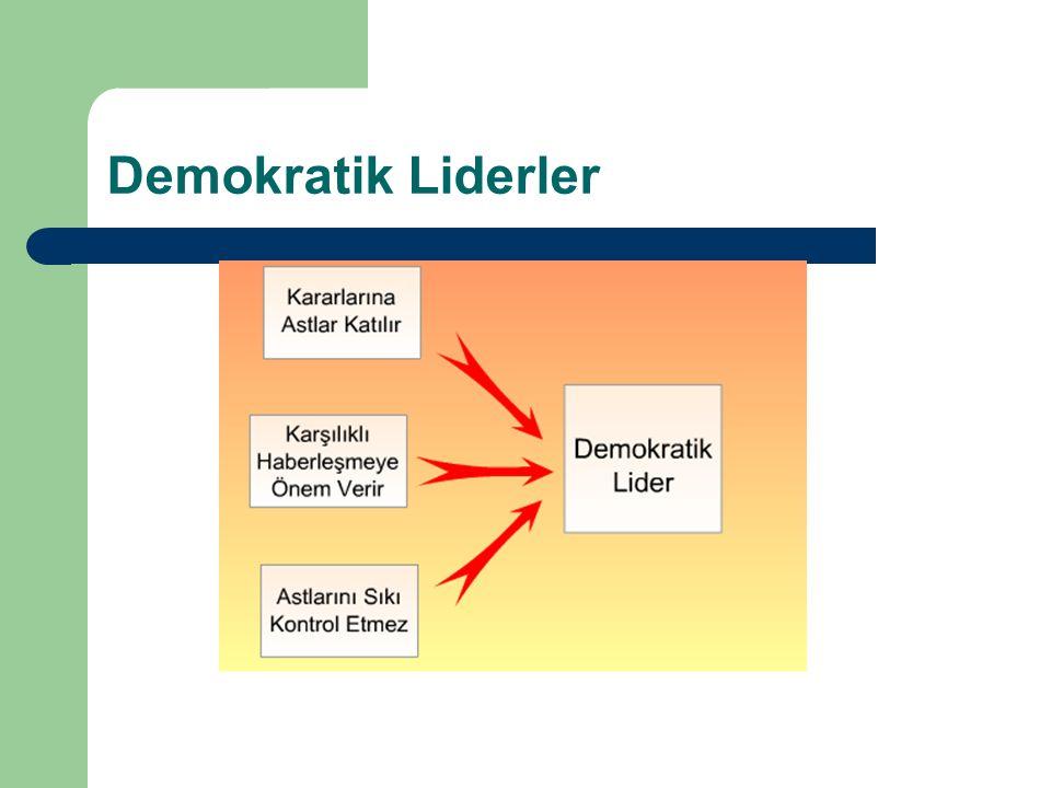 Demokratik Liderler