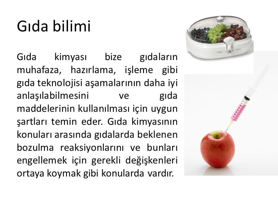 Gıda bilimi