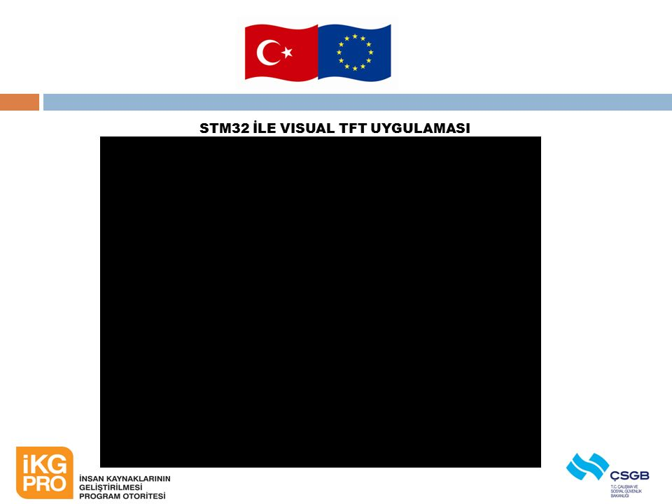 STM32 İLE VISUAL TFT UYGULAMASI