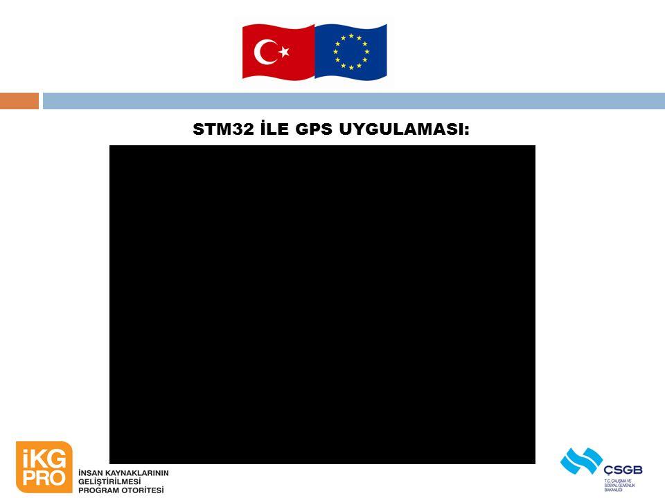 STM32 İLE GPS UYGULAMASI:
