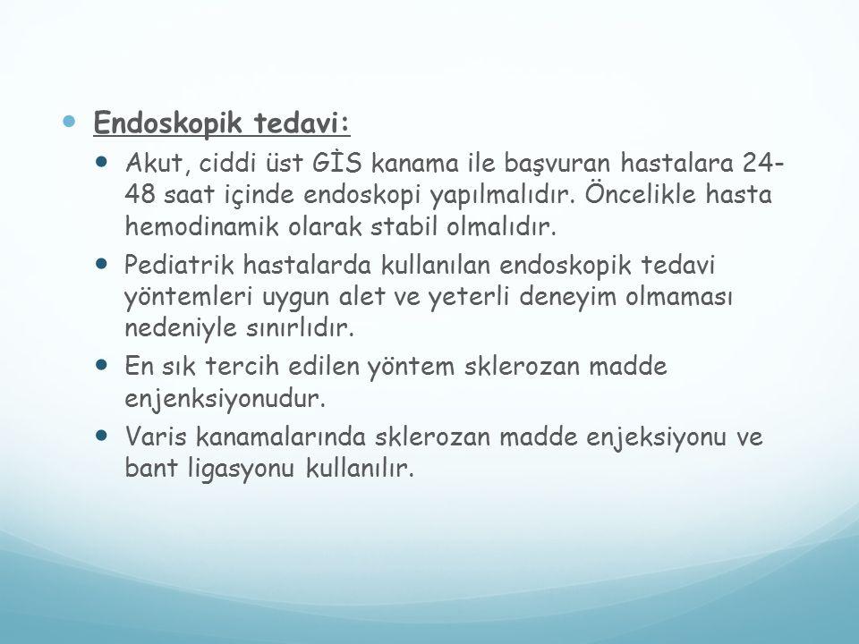 Endoskopik tedavi: