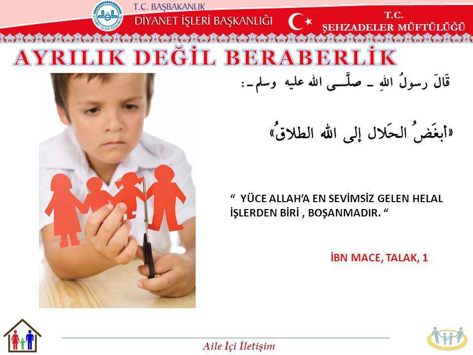 AYRILIK DEĞİL BERABERLİK