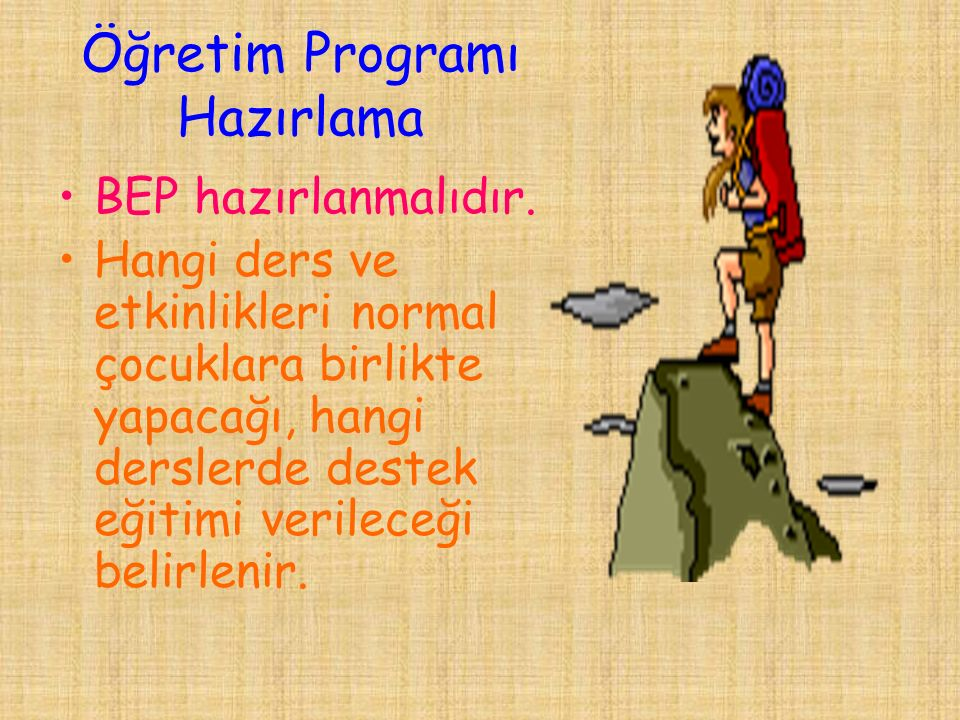 Öğretim Programı Hazırlama