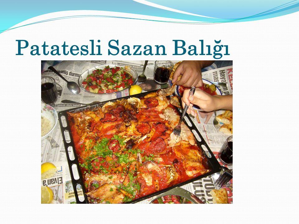 Patatesli Sazan Balığı
