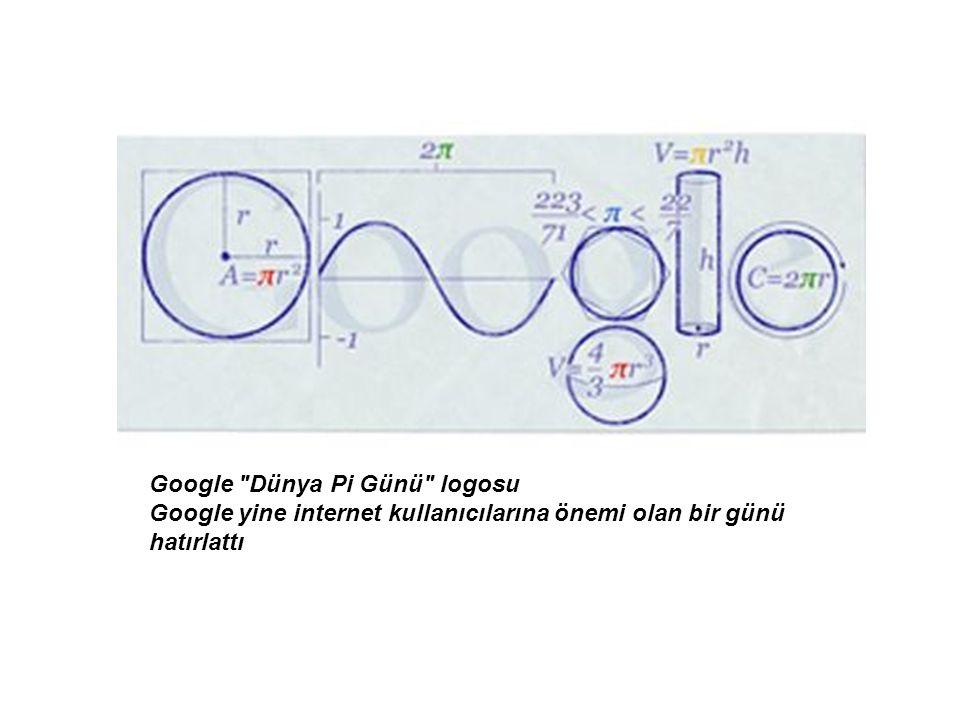 Google Dünya Pi Günü logosu