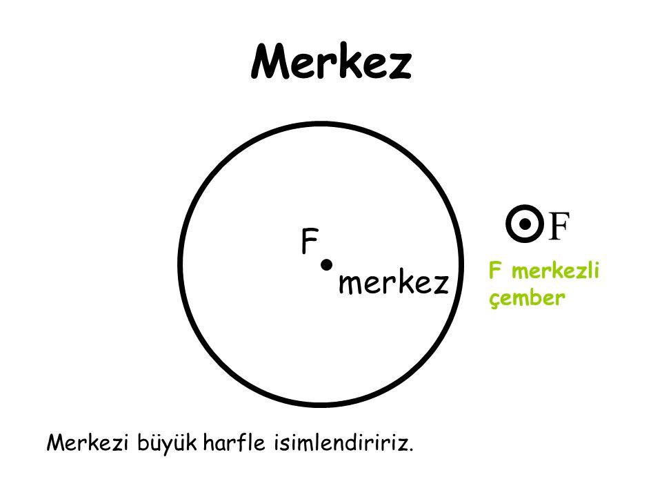 Merkez F F merkez F merkezli çember