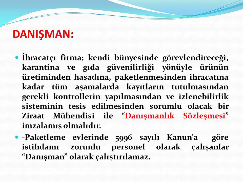 DANIŞMAN: