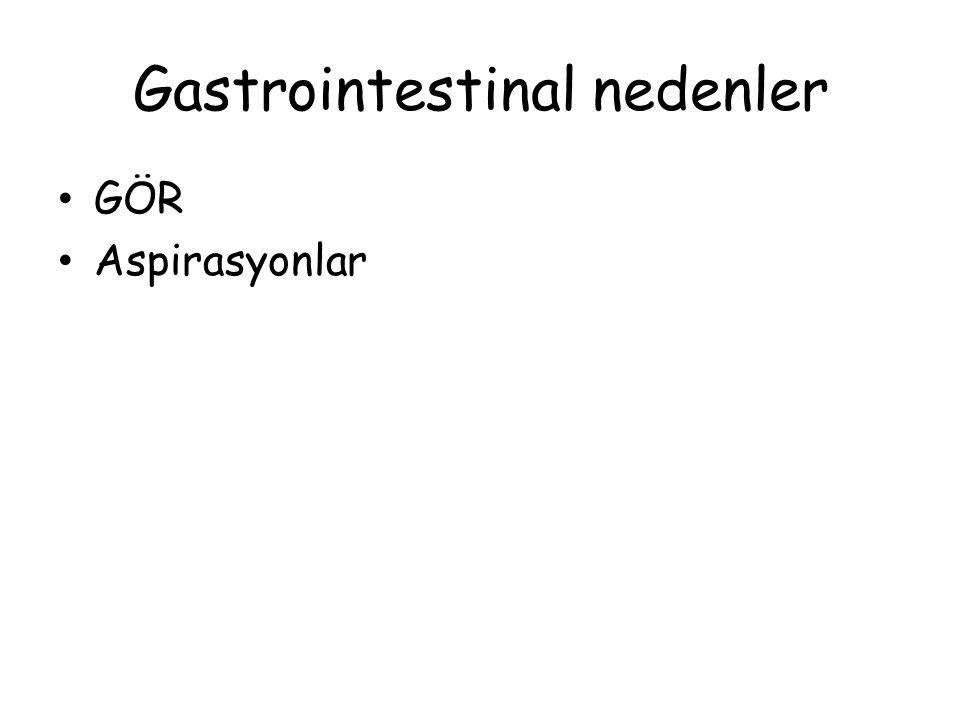 Gastrointestinal nedenler