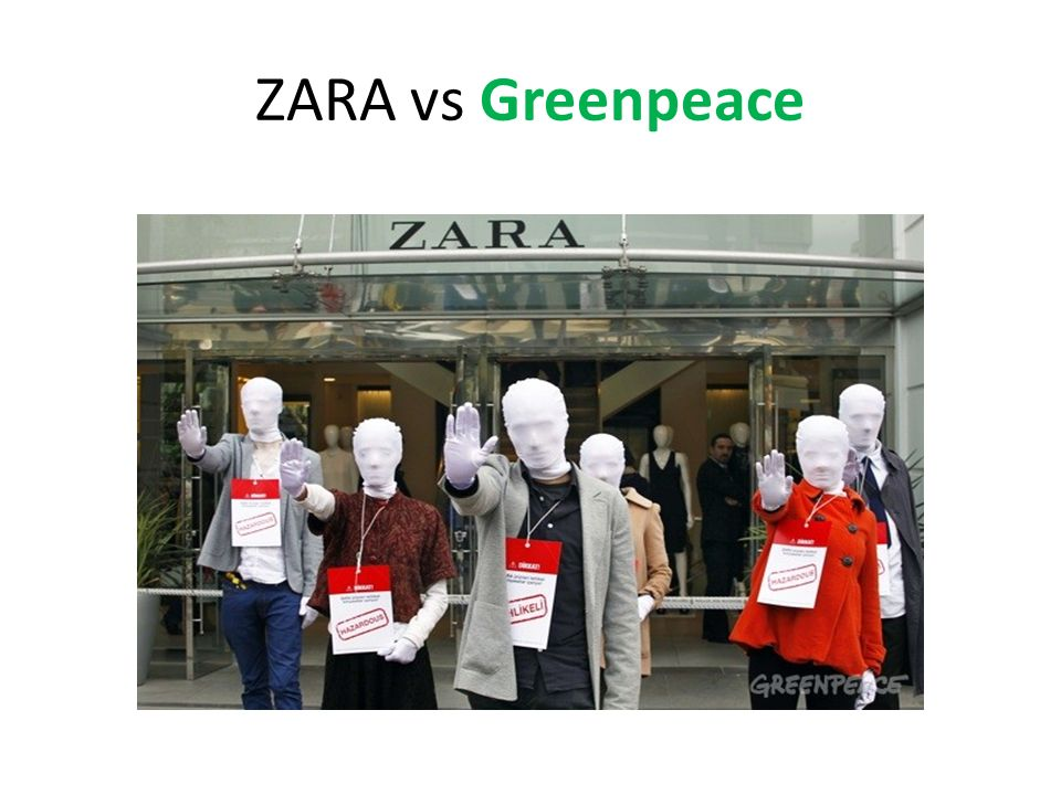 ZARA vs Greenpeace