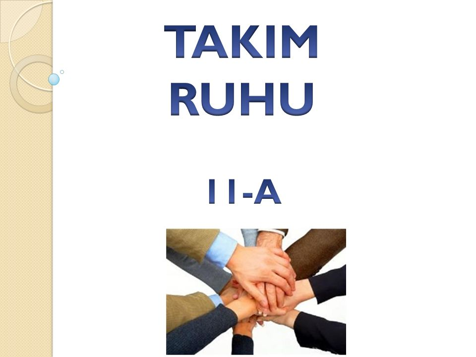 TAKIM RUHU 11-A