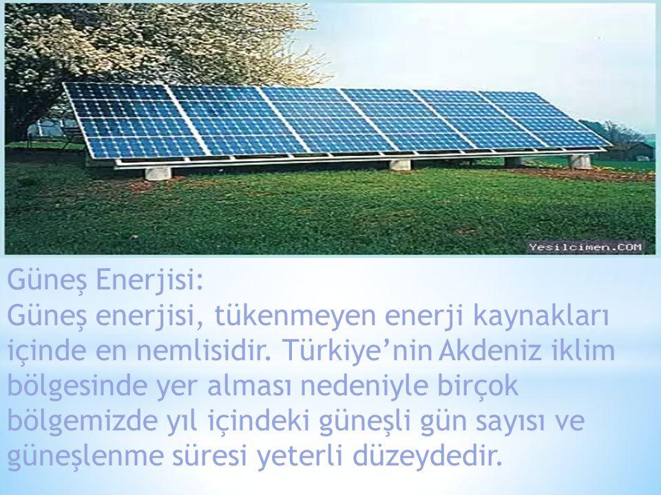Güneş Enerjisi: