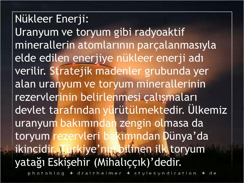 Nükleer Enerji: