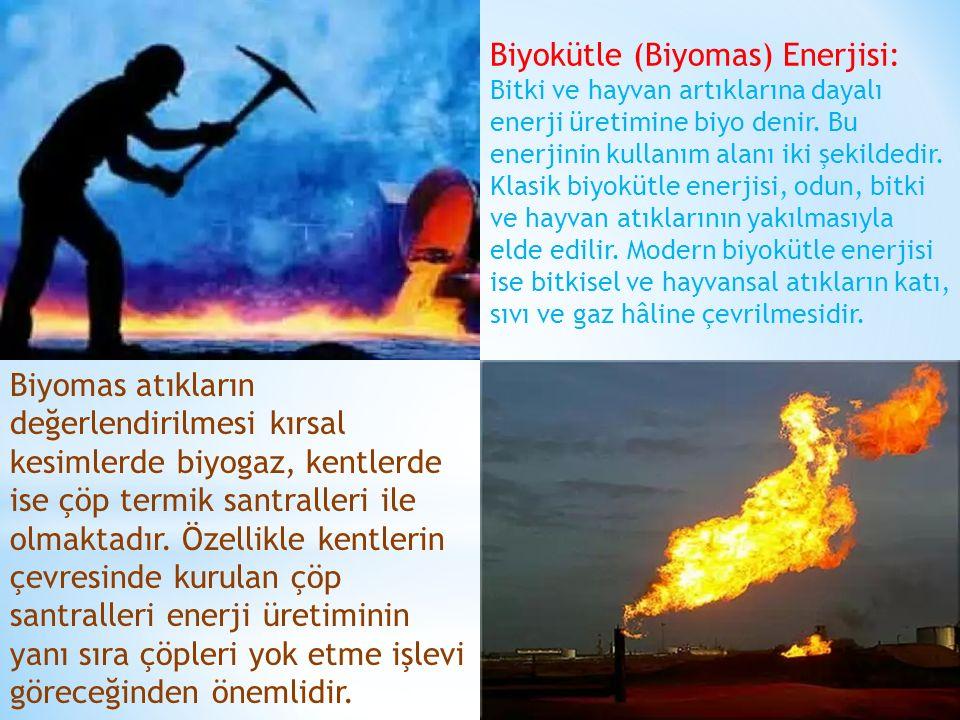 Biyokütle (Biyomas) Enerjisi: