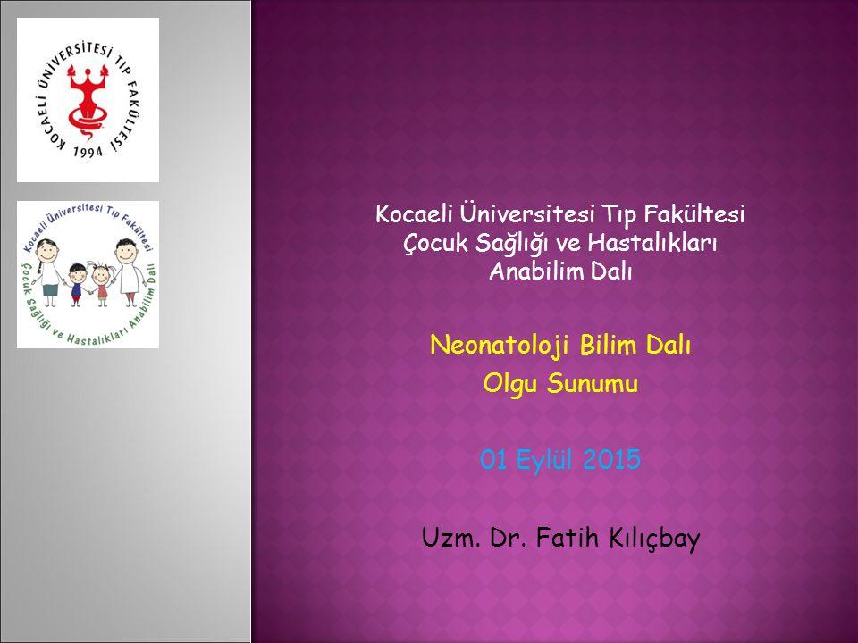 Neonatoloji Bilim Dalı