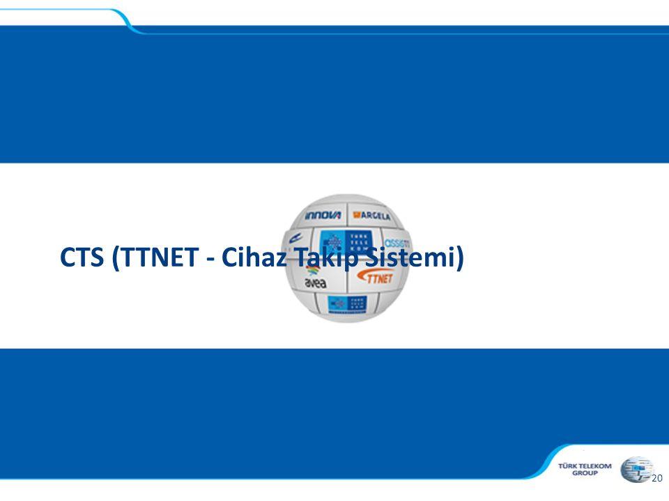CTS (TTNET - Cihaz Takip Sistemi)