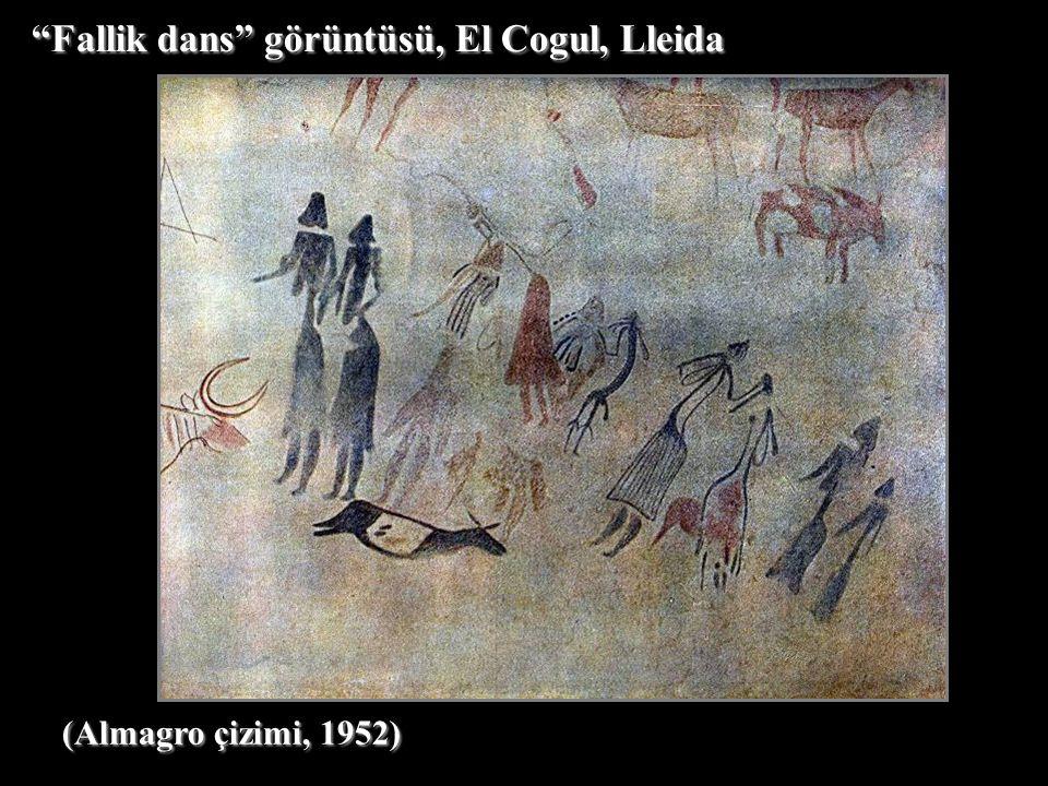 Fallik dans görüntüsü, El Cogul, Lleida