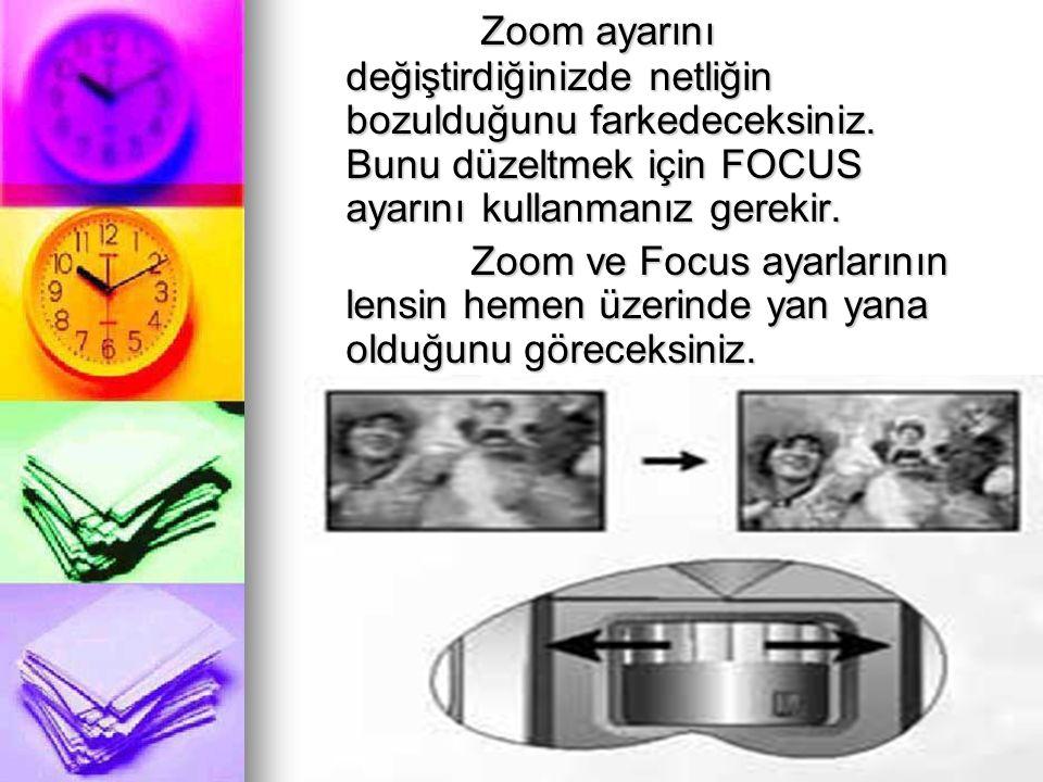 Zoom ayarını değiştirdiğinizde netliğin bozulduğunu farkedeceksiniz