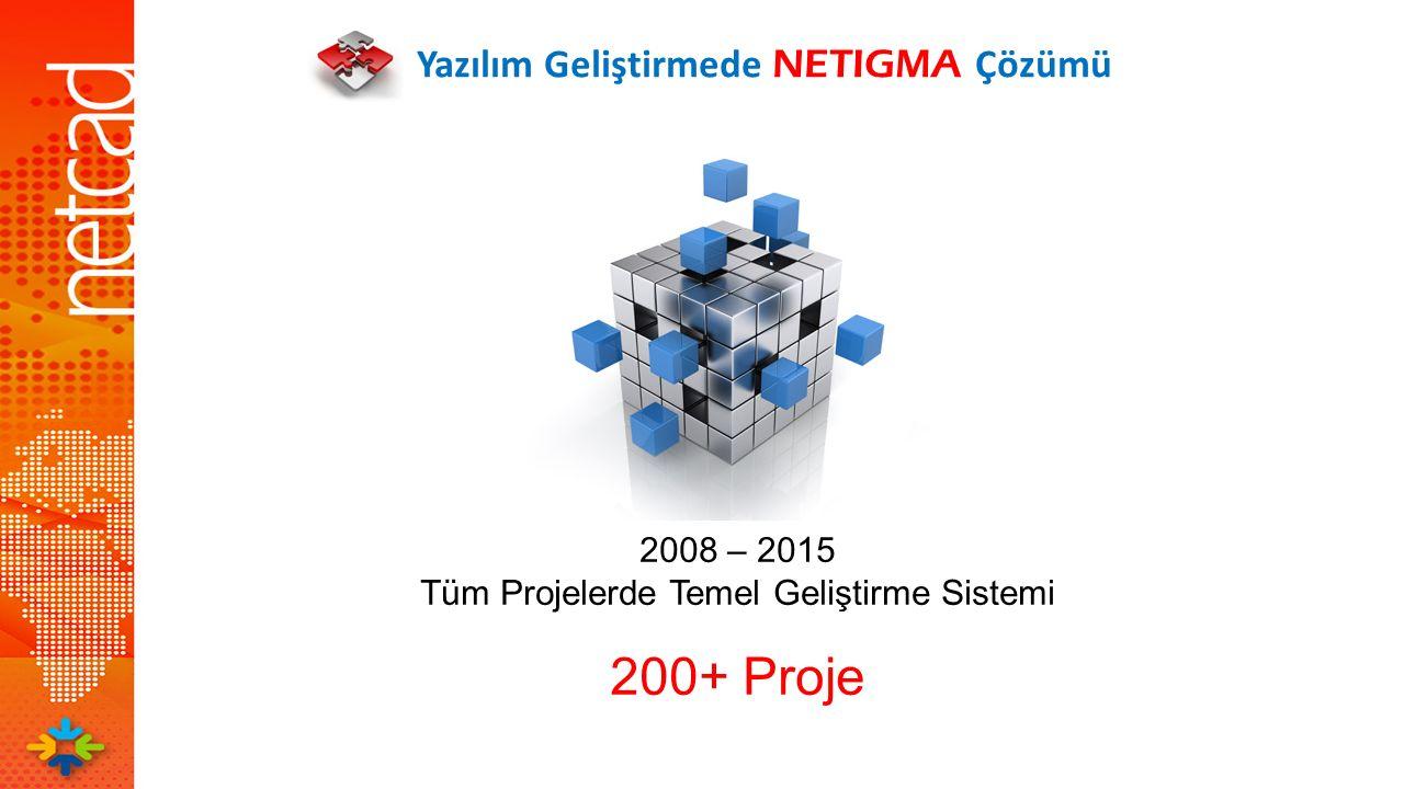 Tüm Projelerde Temel Geliştirme Sistemi