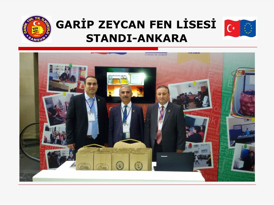 GARİP ZEYCAN FEN LİSESİ STANDI-ANKARA