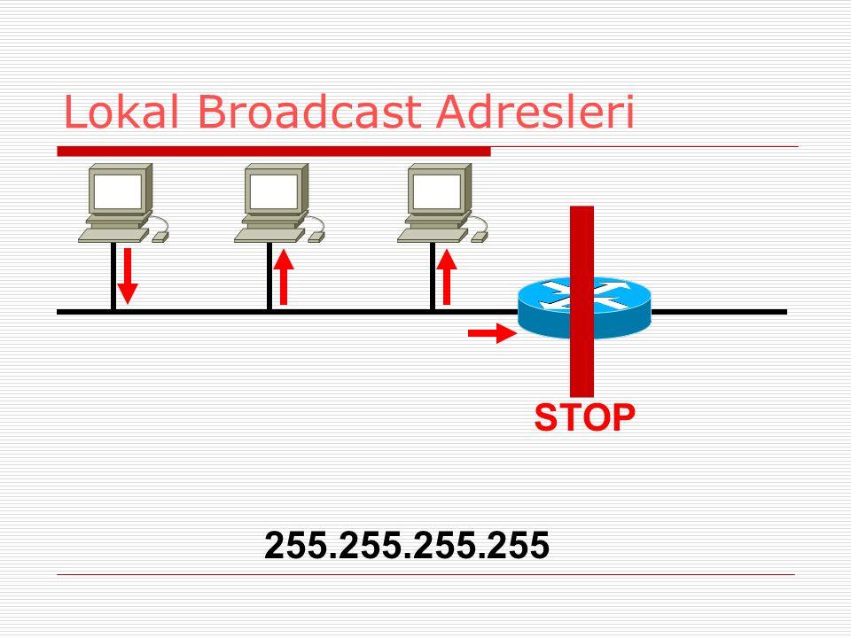 Lokal Broadcast Adresleri