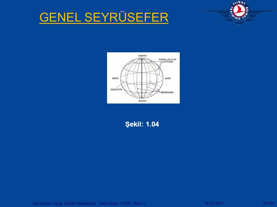 GENEL SEYRÜSEFER Şekil: 1.04