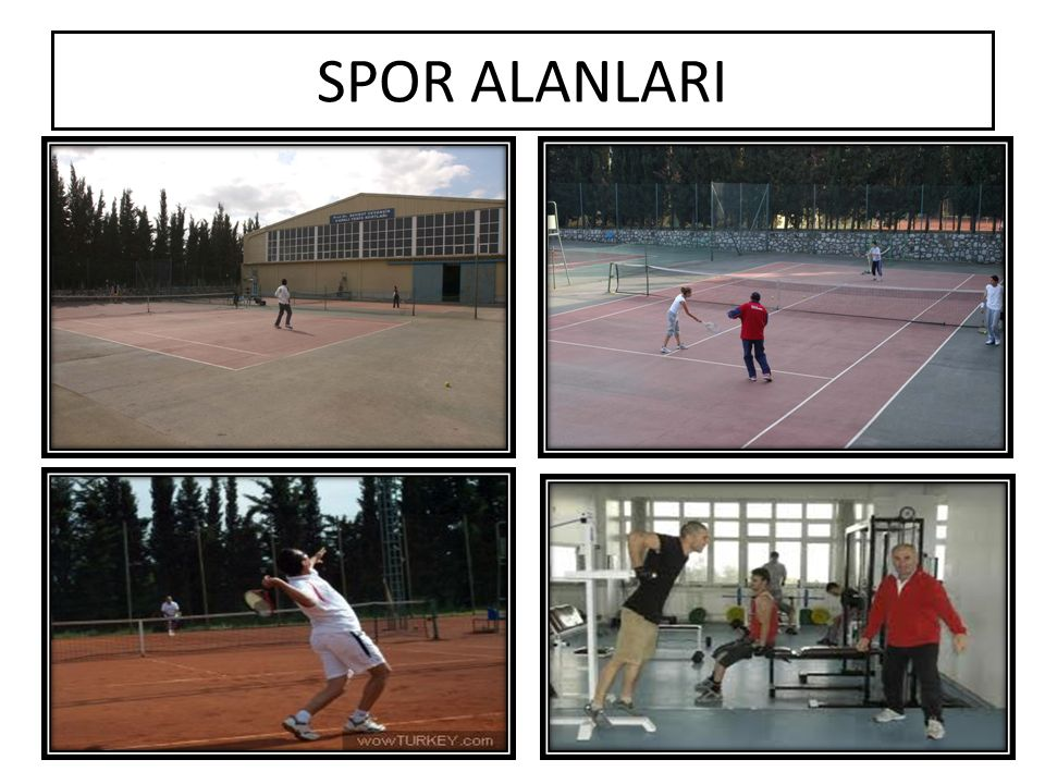 SPOR ALANLARI