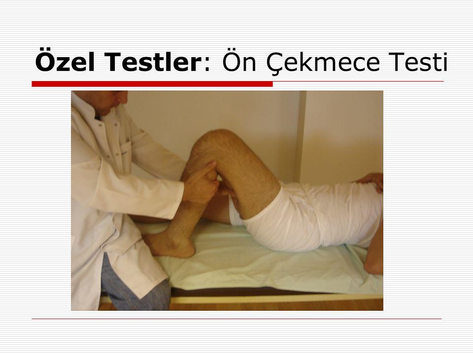 Özel Testler: Ön Çekmece Testi