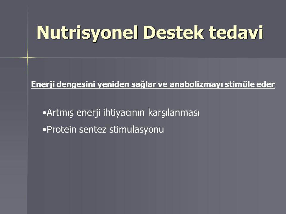 Nutrisyonel Destek tedavi