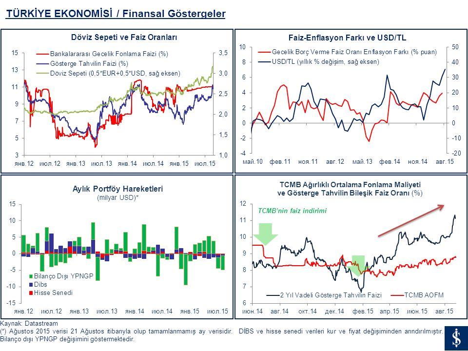 TÜRKİYE EKONOMİSİ / Finansal Göstergeler