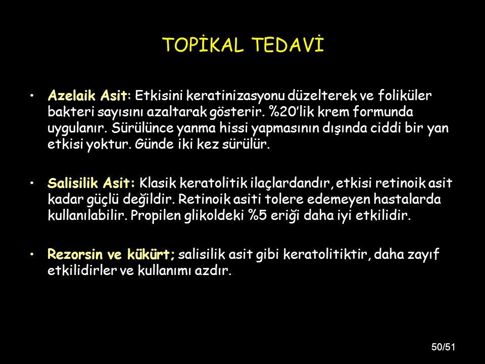 TOPİKAL TEDAVİ