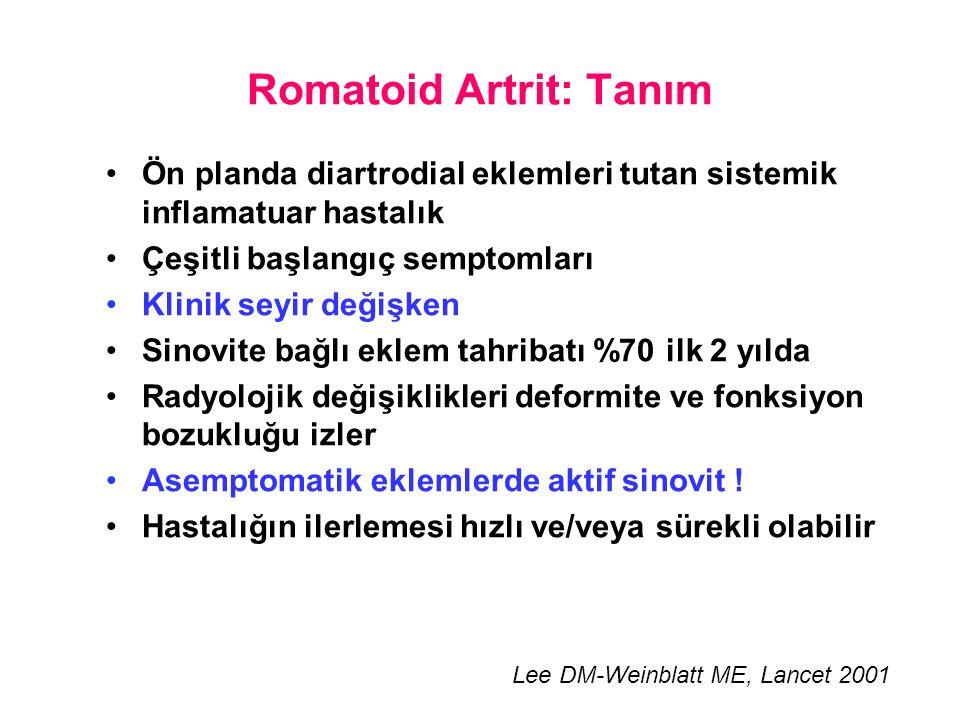 Romatoid Artrit: Tanım