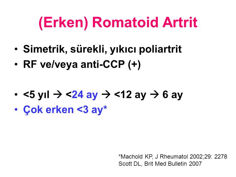 (Erken) Romatoid Artrit