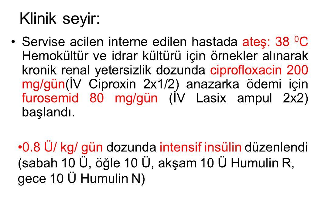 Klinik seyir: