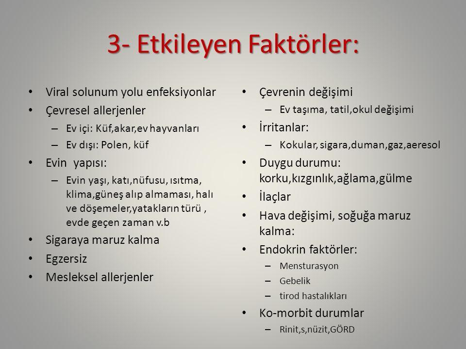 3- Etkileyen Faktörler: