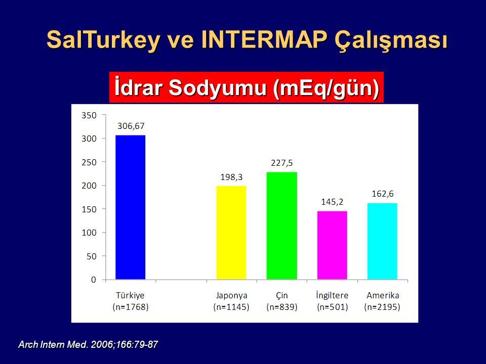 SalTurkey ve INTERMAP Çalışması