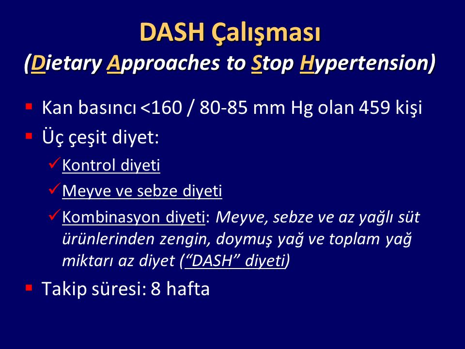 (Dietary Approaches to Stop Hypertension)