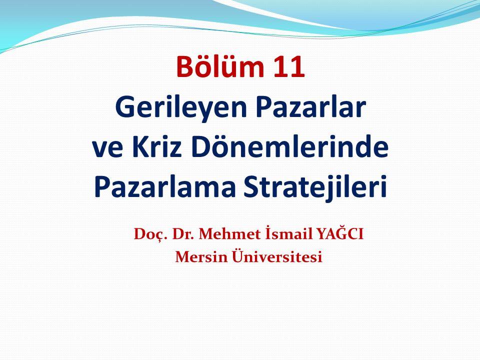 Doç. Dr. Mehmet İsmail YAĞCI Mersin Üniversitesi