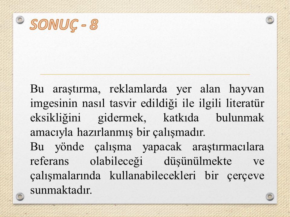 SONUÇ - 8