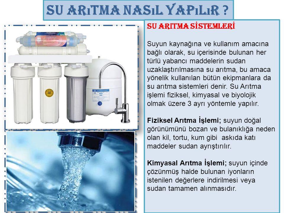 Su Arıtma Nasıl Yapılır