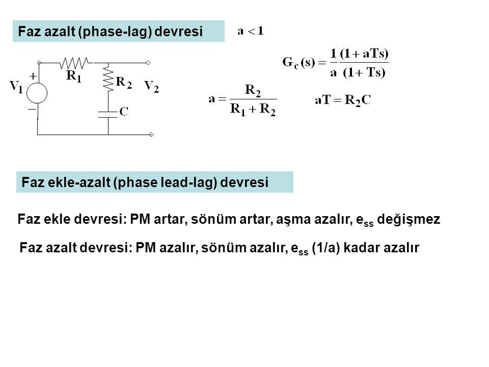 Faz azalt (phase-lag) devresi
