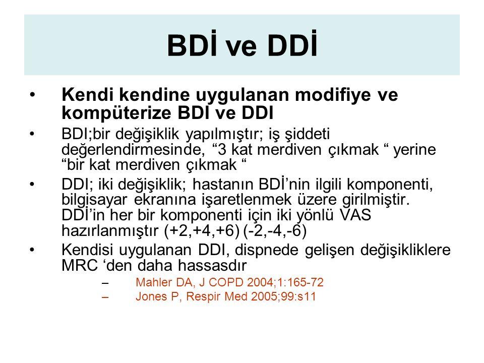 BDİ ve DDİ Kendi kendine uygulanan modifiye ve kompüterize BDI ve DDI