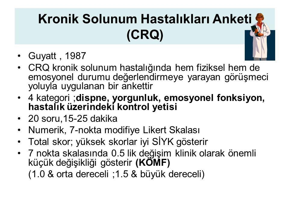 Kronik Solunum Hastalıkları Anketi (CRQ)