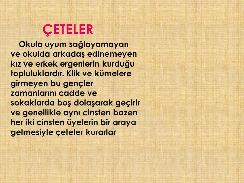 ÇETELER